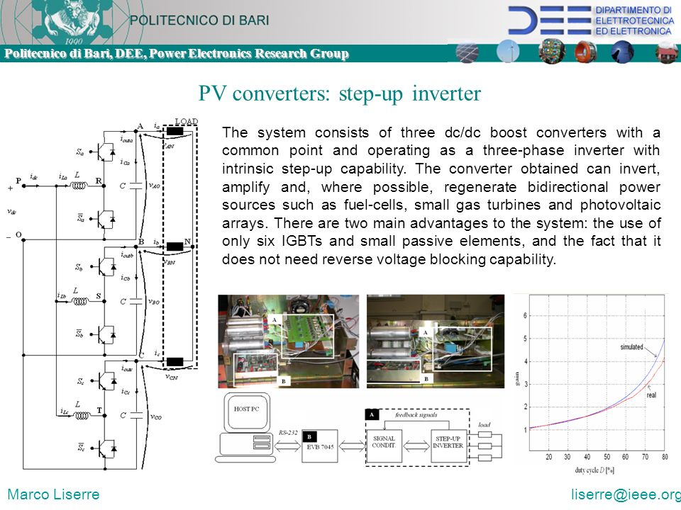 PV converters: step-up inverter