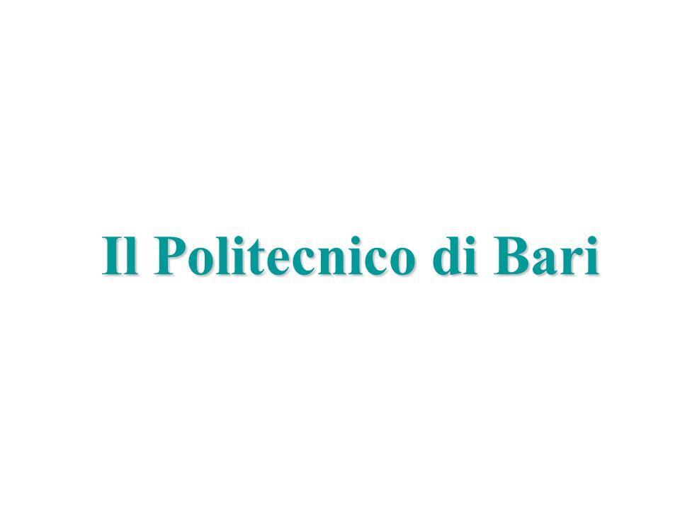 Il Politecnico di Bari Marco Liserre liserre@ieee.org