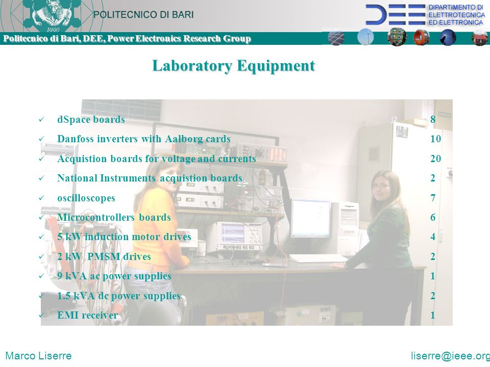 Laboratory Equipment dSpace boards 8