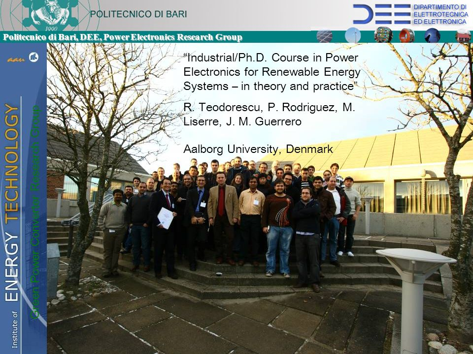 Green Power Converter Research Group