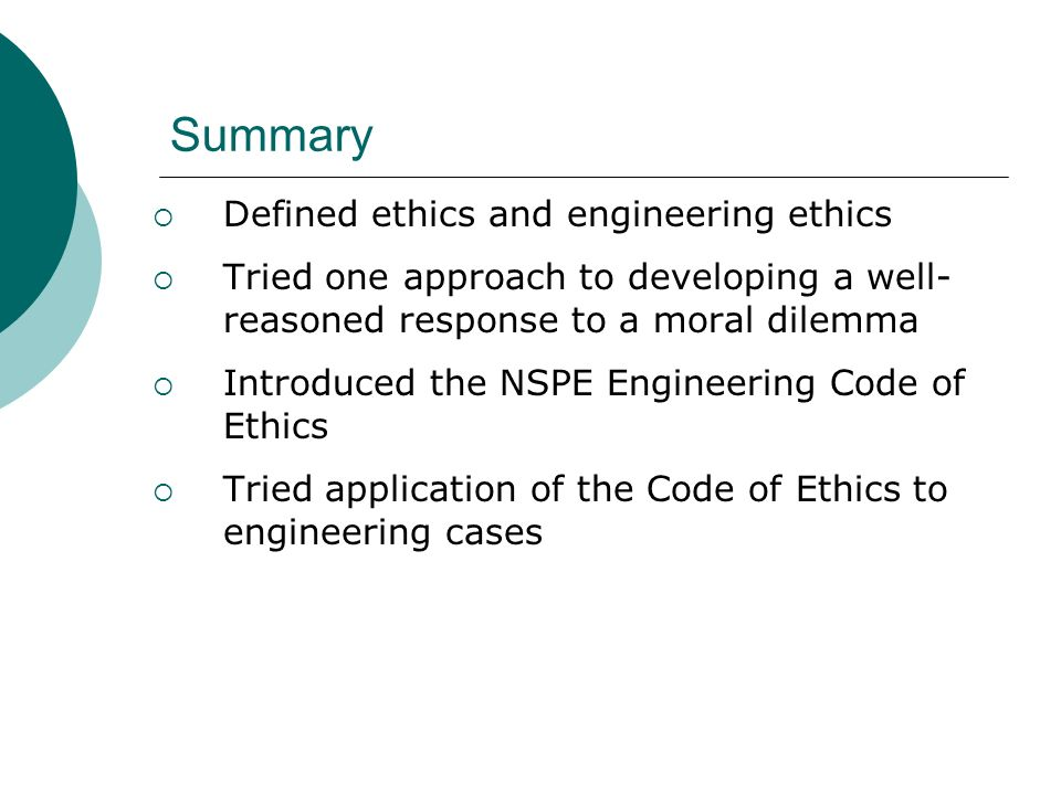 ethics of engineering essay Davis\engineer\codes (md006) (0110d) engineering codes of ethics: analysis and applications heinz c luegenbiehl and michael davis.