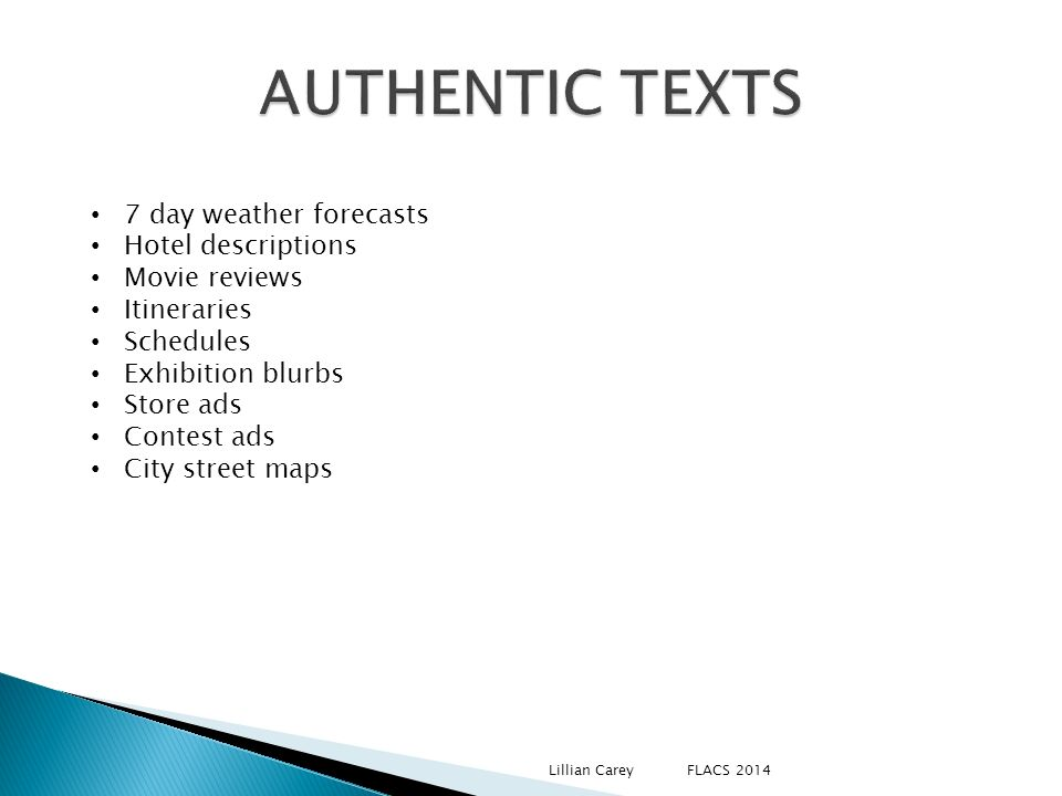 AUTHENTIC TEXTS 7 day weather forecasts Hotel descriptions