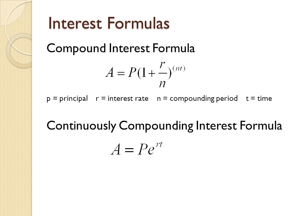 3.10 & 3.11 Exponential Growth Obj: apply compound and ...