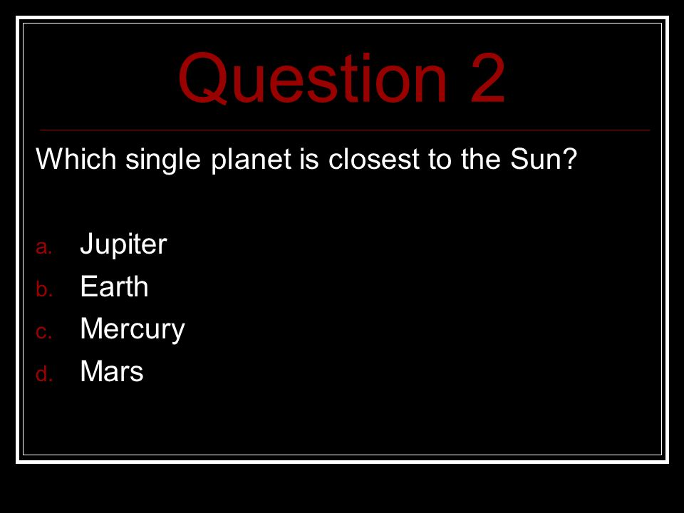 wich planet closest to the earth - photo #6
