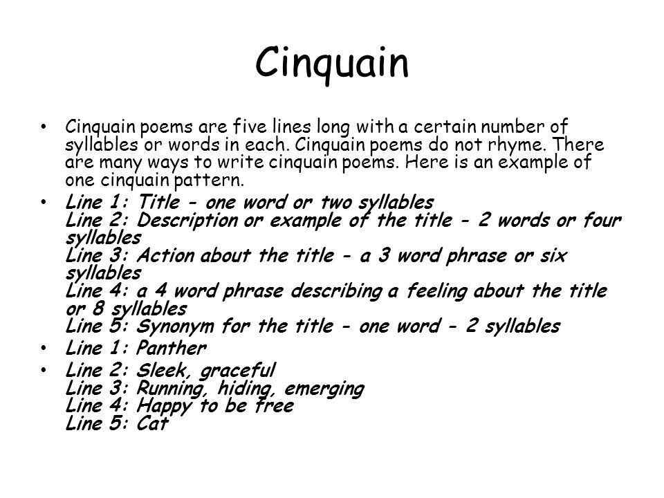 Great Cinquain Template Photos Examples Of Cinquain Poems Google