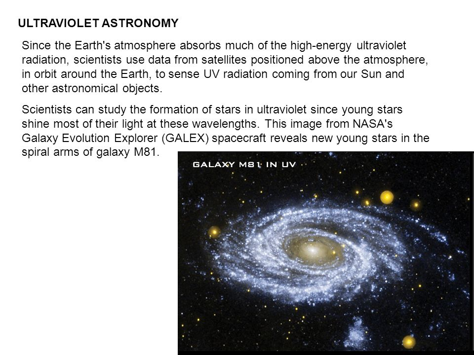 ULTRAVIOLET ASTRONOMY