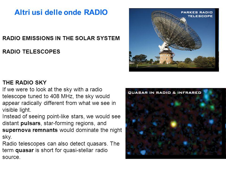 Altri usi delle onde RADIO