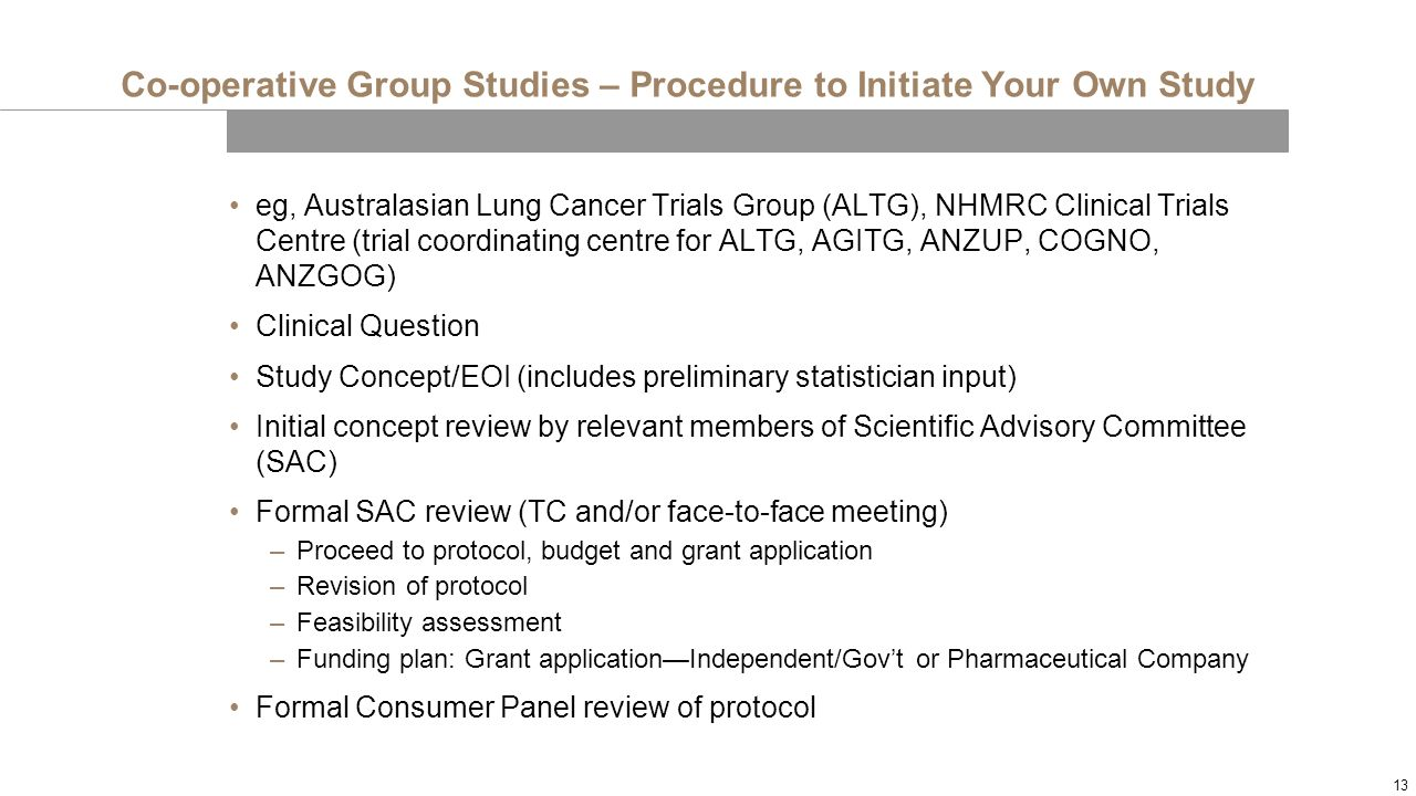 nhmrc guidelines for clinical trials