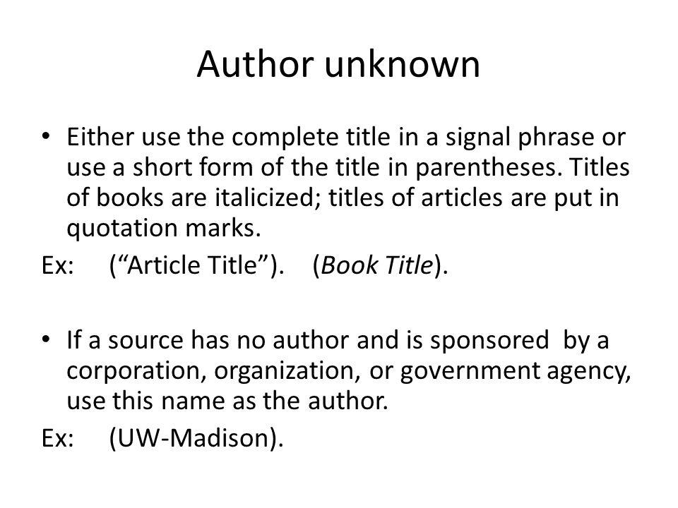 mla in text citation essay title Title of chapter or essay title of book or anthology name of editor of book cited publication information mla in-text citations check cite.