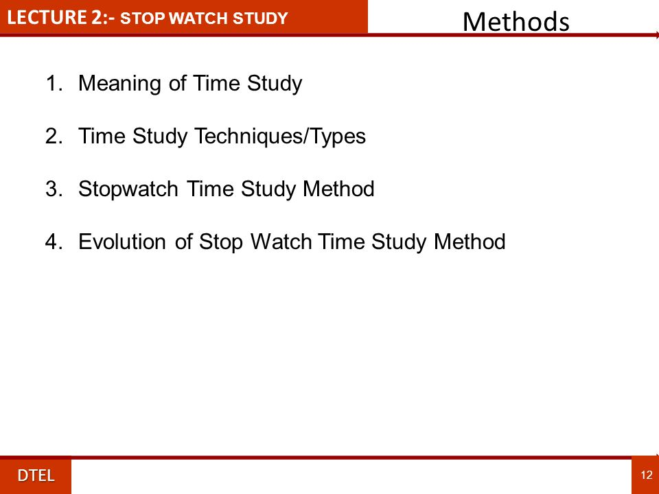 Topic 4 - STOPWATCH TIME STUDY.ppt