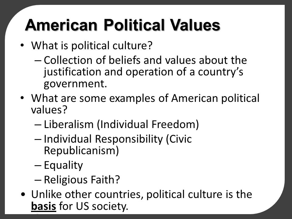 american civic values essay 1 Civic series civic values, civic practic es editor: donald w harward series editor: barry checkoway  introduction and framing essay x part 1 perspectives on the.
