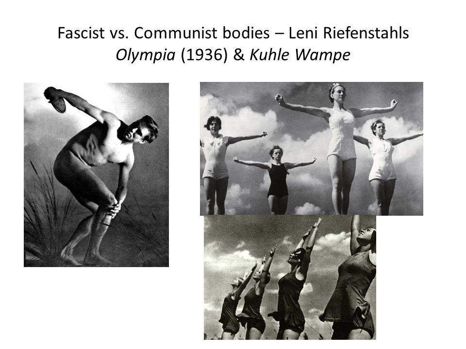 an analysis of the main theme in leni riefenstahls film triumph of the will The arrival of hitler notes and analysis  the photo on page 13 shows riefenstahl during the making of the film see also: leni riefenstahl's 'gypsy question', by .