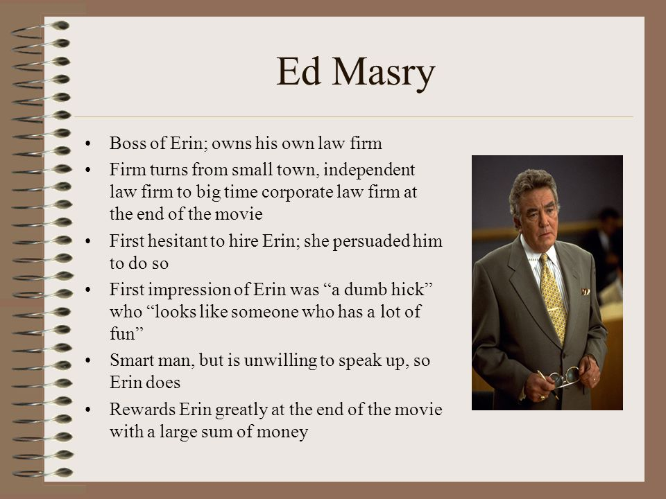 erin brockovich and ed masry relationship quotes
