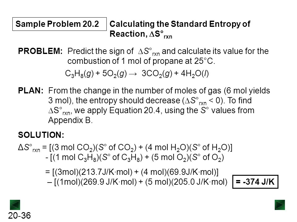 how to calculate entropy change at non standard temperature