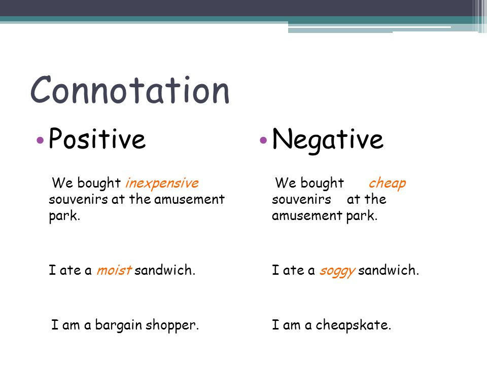 denotation and connotation Learn how word choice can transform a passage with flocabulary's educational rap song and lesson plan.
