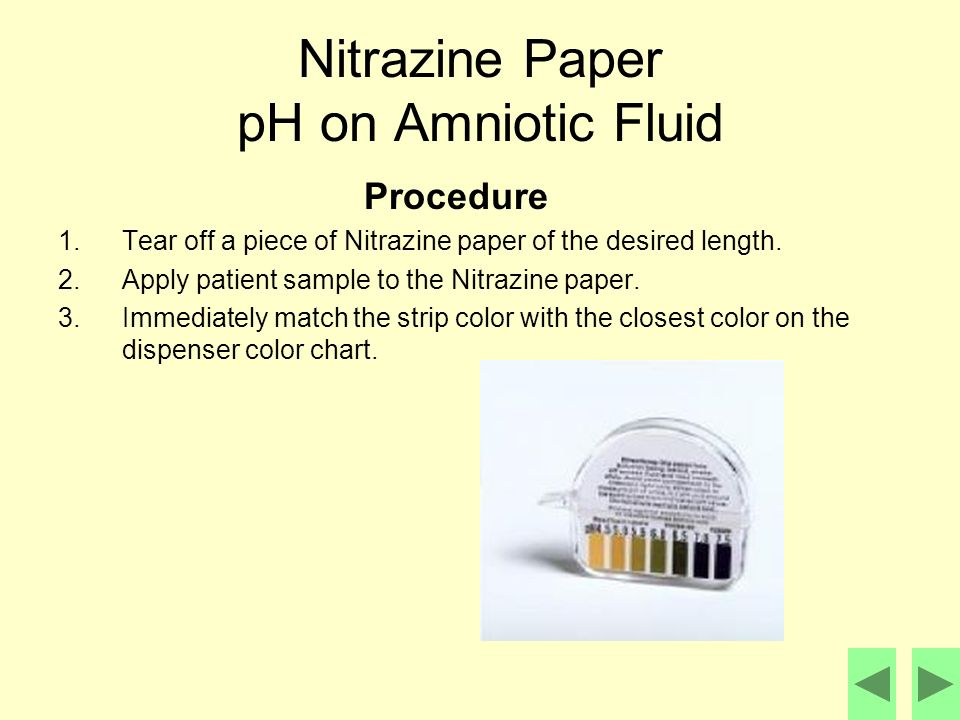 What Does a Positive Nitrazine Test Signify?