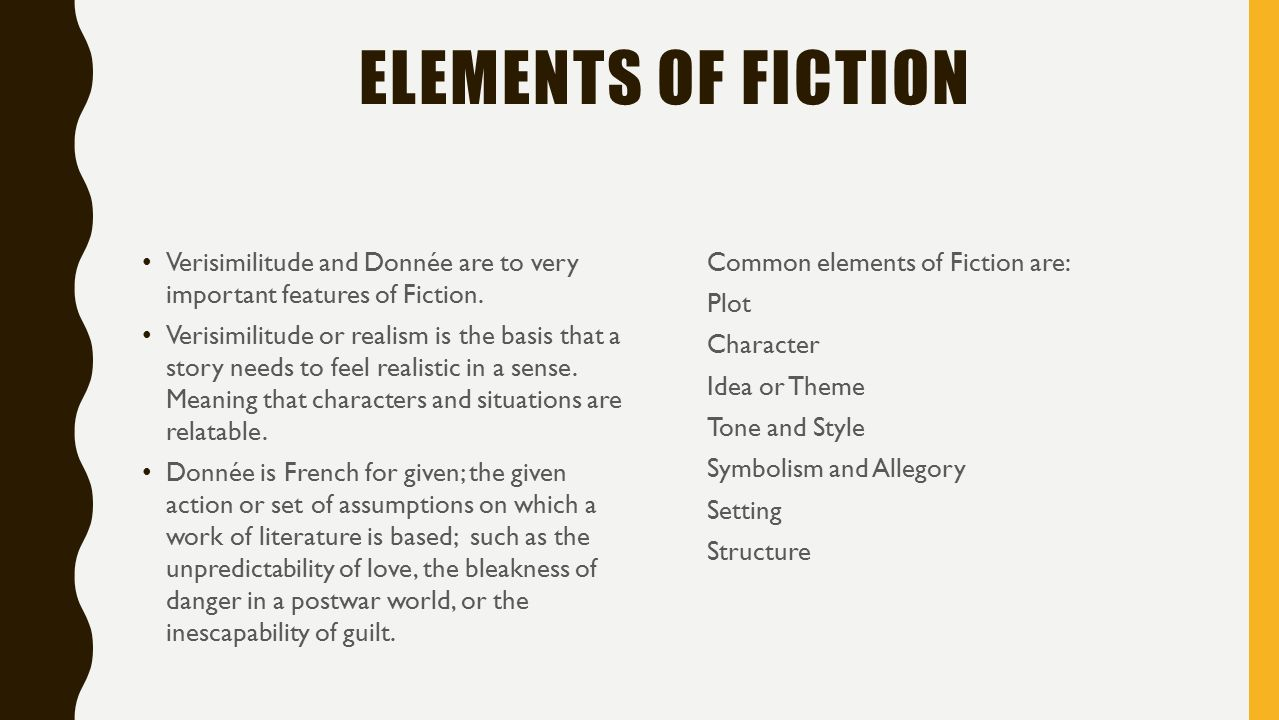 Importance of symbolism in literature gallery symbol and sign ideas genres of literature fiction ppt video online download elements of fiction verisimilitude and donne are to buycottarizona