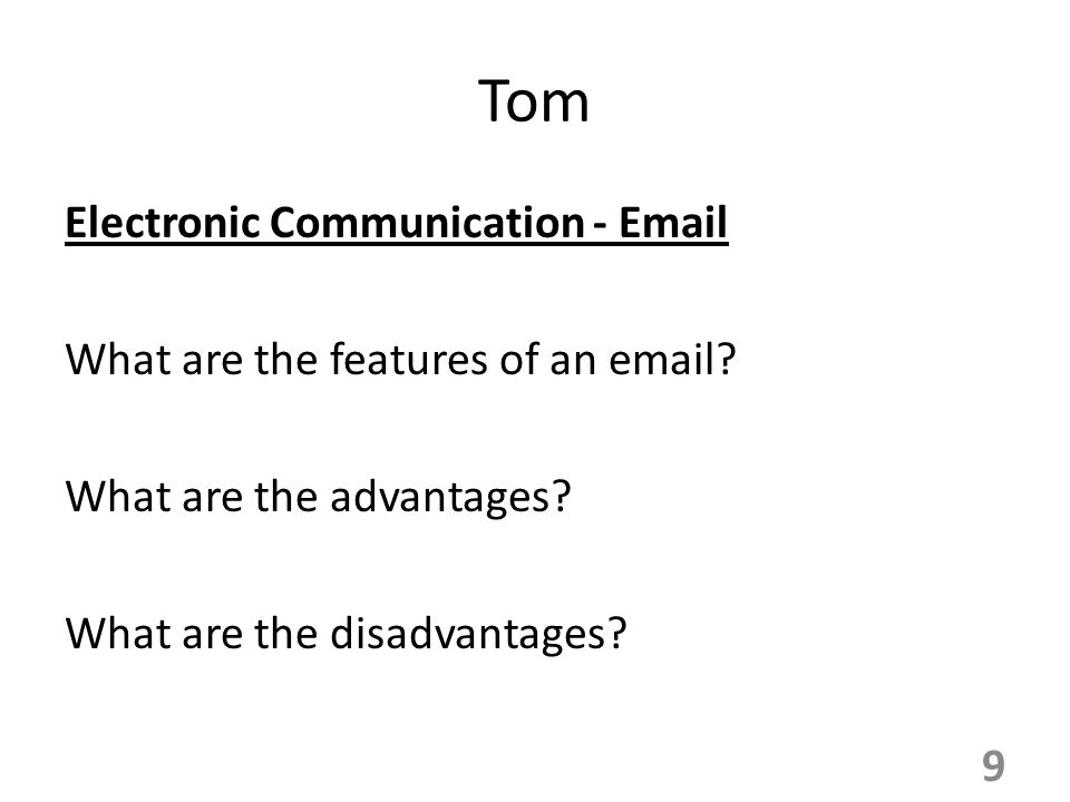 advantages and disadvantages of written communication pdf