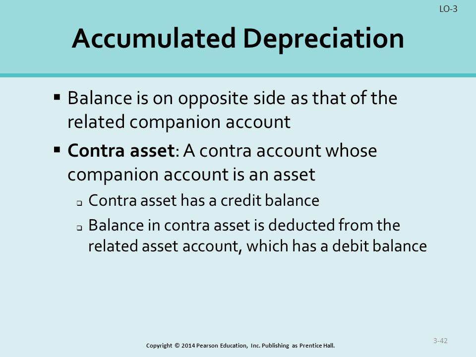 The Accumulated Depreciation Account Is Called