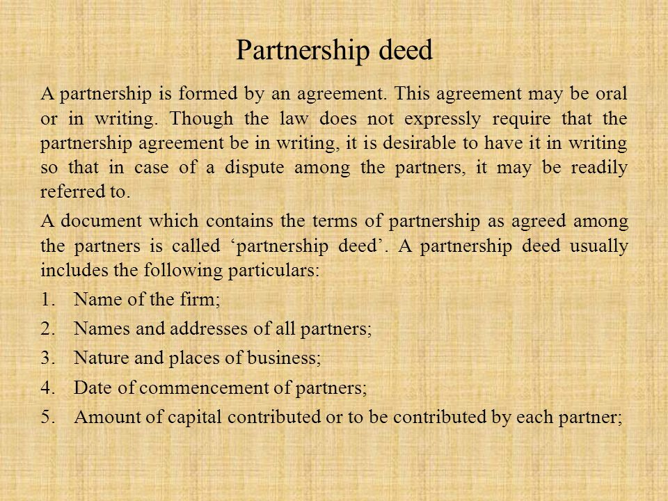 Partnership deed format mandegarfo partnership deed format altavistaventures Image collections