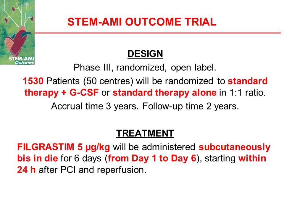STEM-AMI OUTCOME TRIAL
