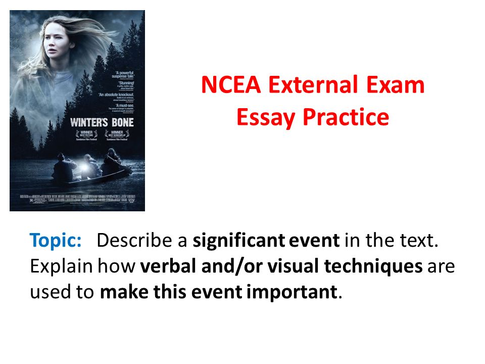 ncea external exam essay practice ppt video online  ncea external exam essay practice