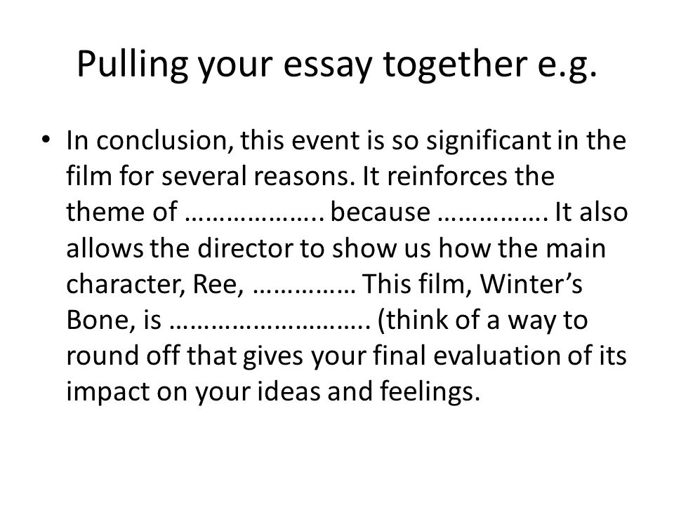 ncea external exam essay practice ppt video online  pulling your essay together e g