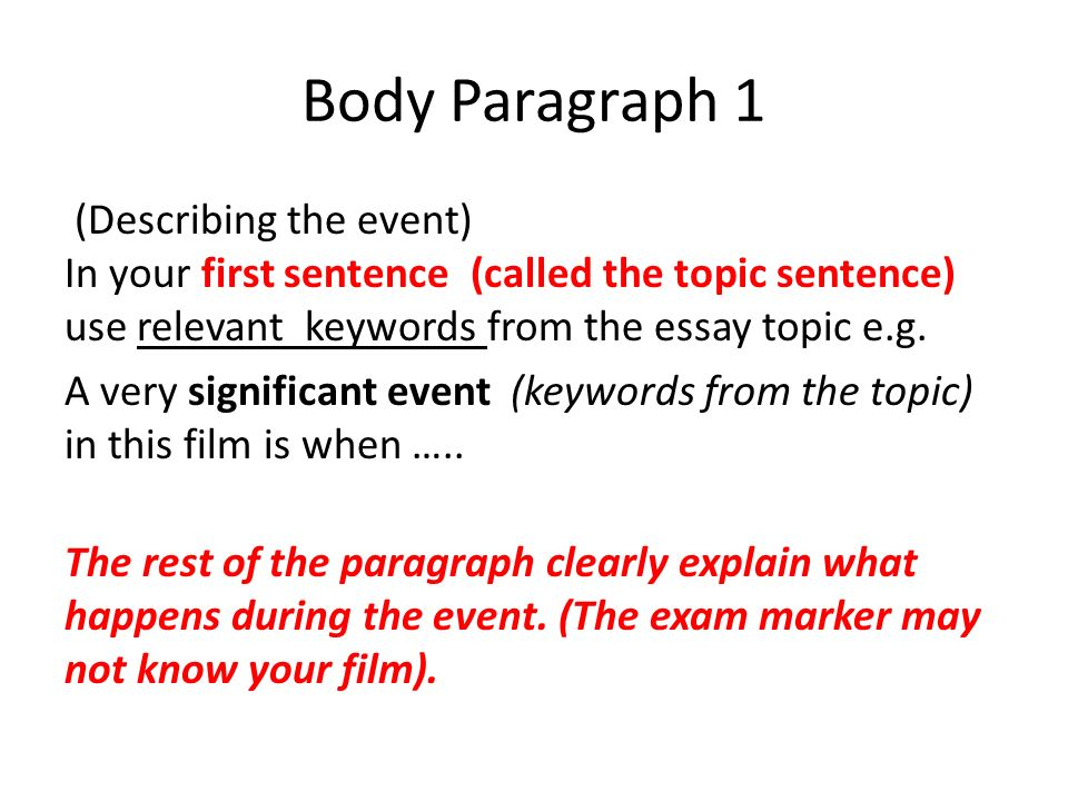 ncea external exam essay practice ppt video online  body paragraph 1