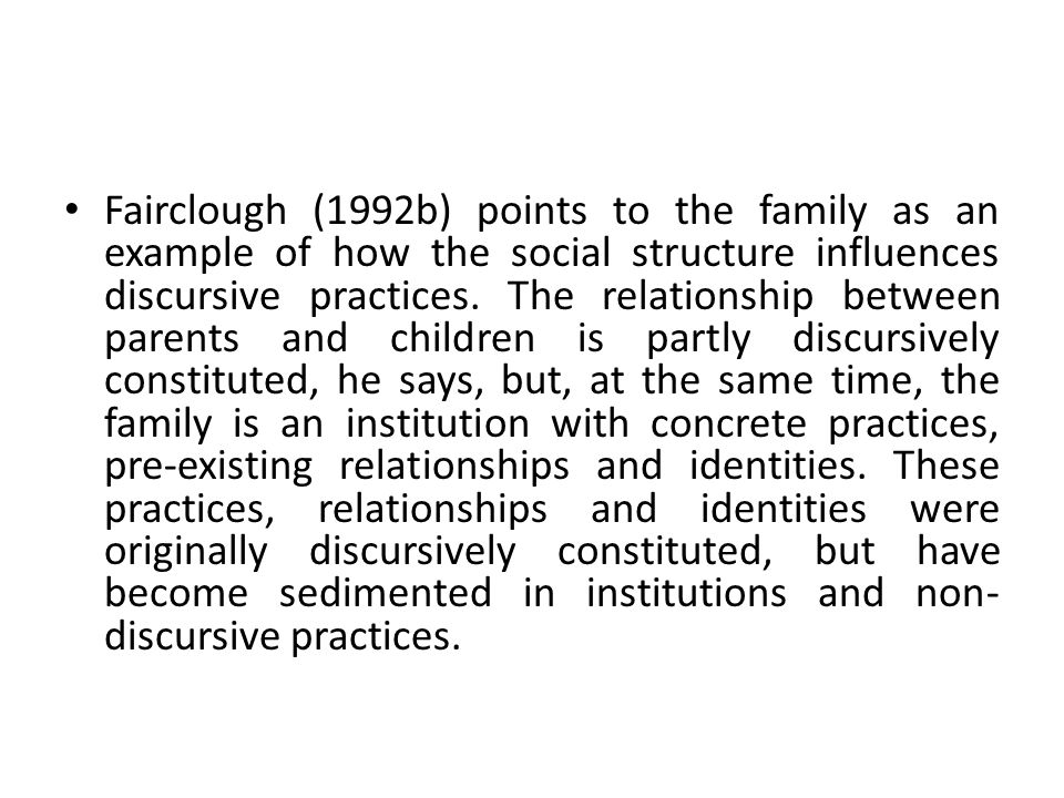 a critical analysis of parental influence The purpose of the study was to explore the impact of parental nurturance on behavior acquisition among a critical analysis of parent influence the.