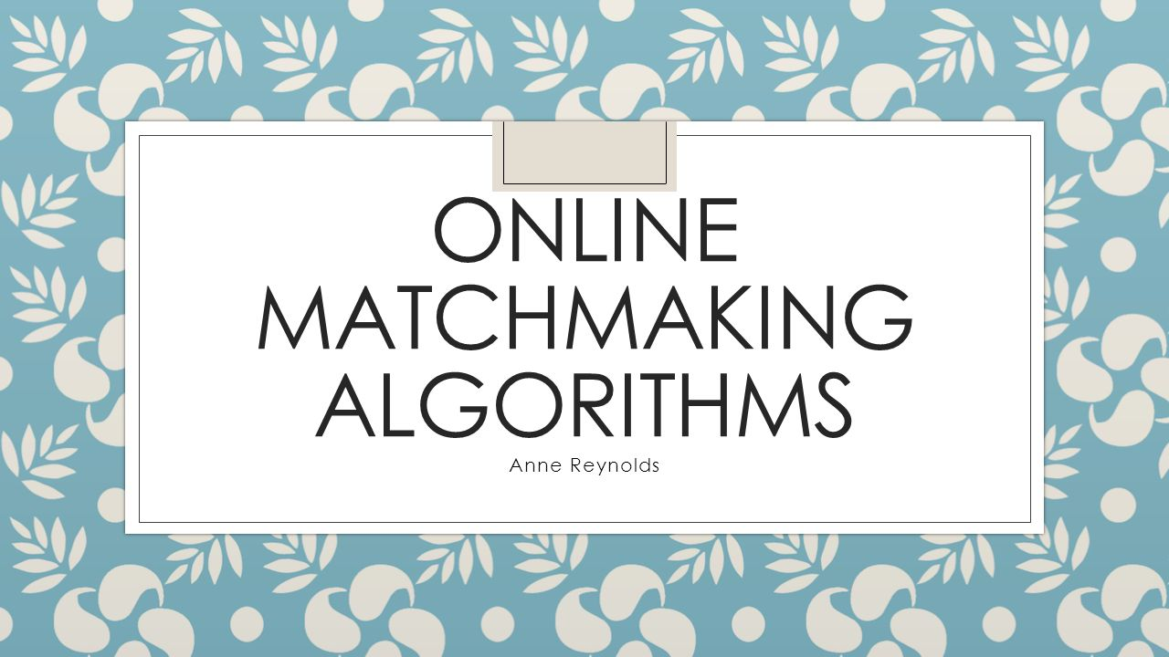 What You Need to Know About Online Dating Algorithms