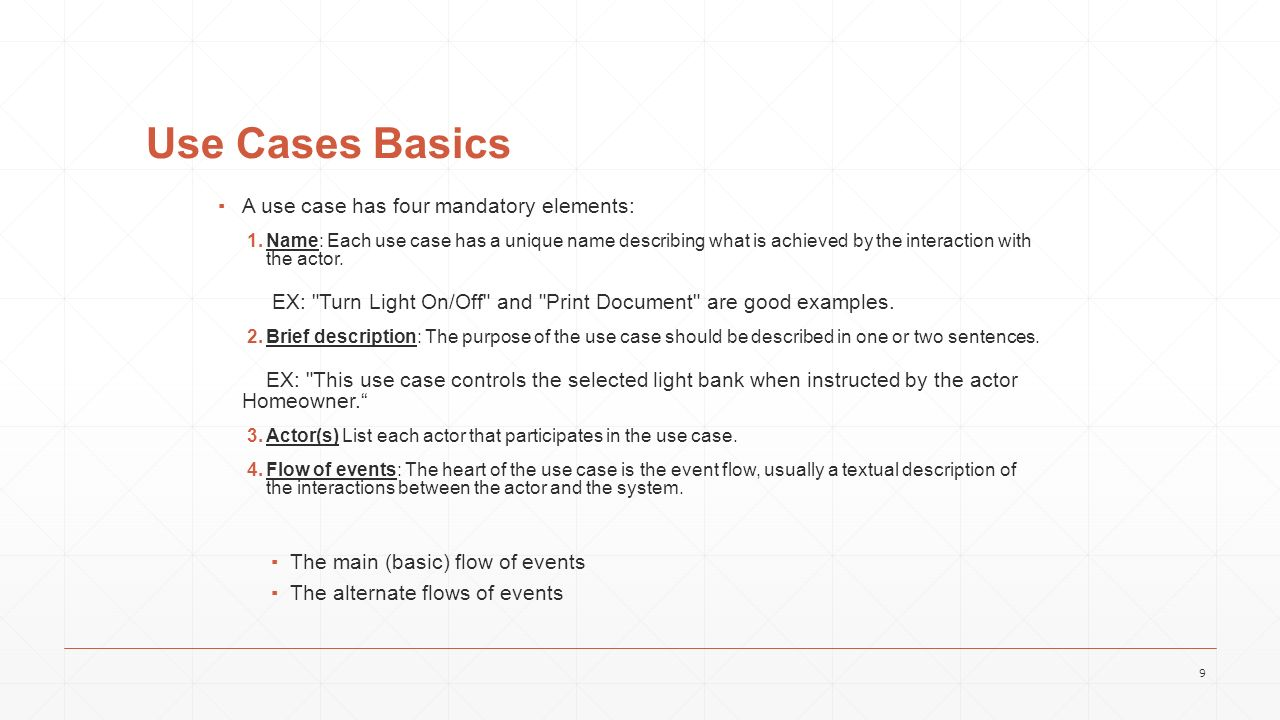 Use case model use case description ppt video online download 9 use cases pooptronica