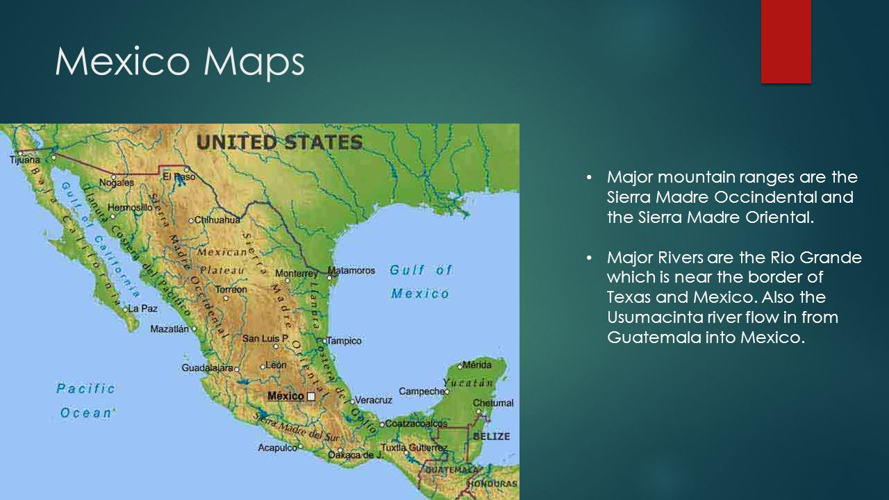 Canada And Mexico By Joey Martinez Ppt Download - Major rivers in canada map