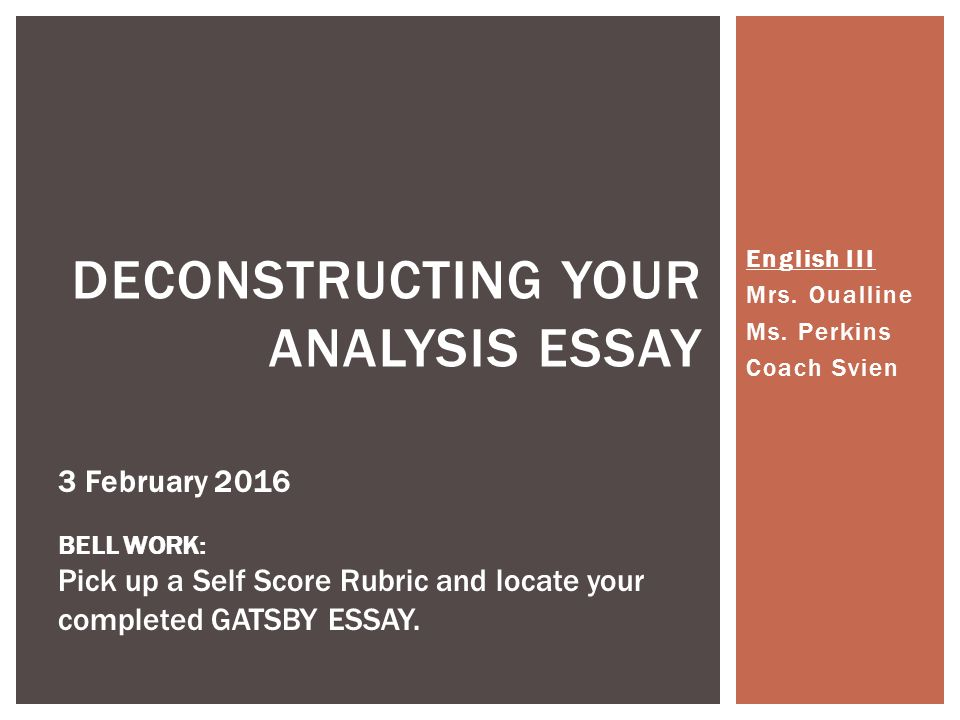 Investigation Completion and Analysis Essay Paper
