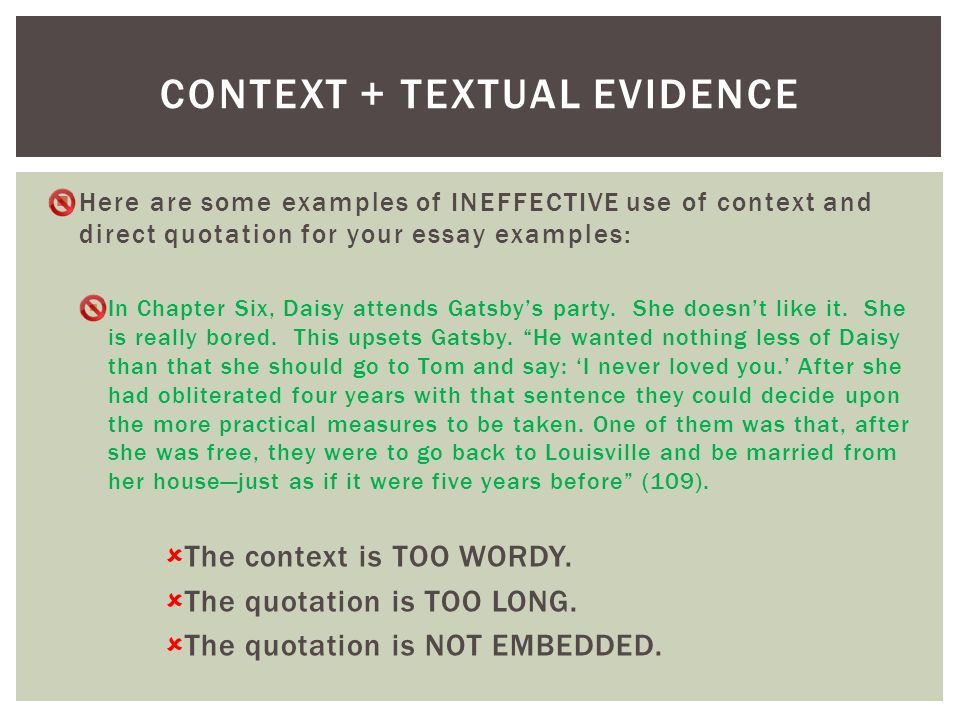 an essay example on the contexts This is the last in the series of assignments based on text analysis in this assignment, we will practice once again the analytical skills we have been honing up to this point this time, however, we are narrowing our focus to the contexts in which texts are produced and received the goals of this.