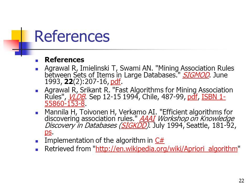 association rules wiki