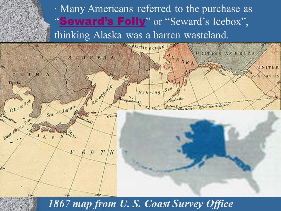 Chapter Section Part A Pacific Empire Ppt Download - Us map after sewards folly