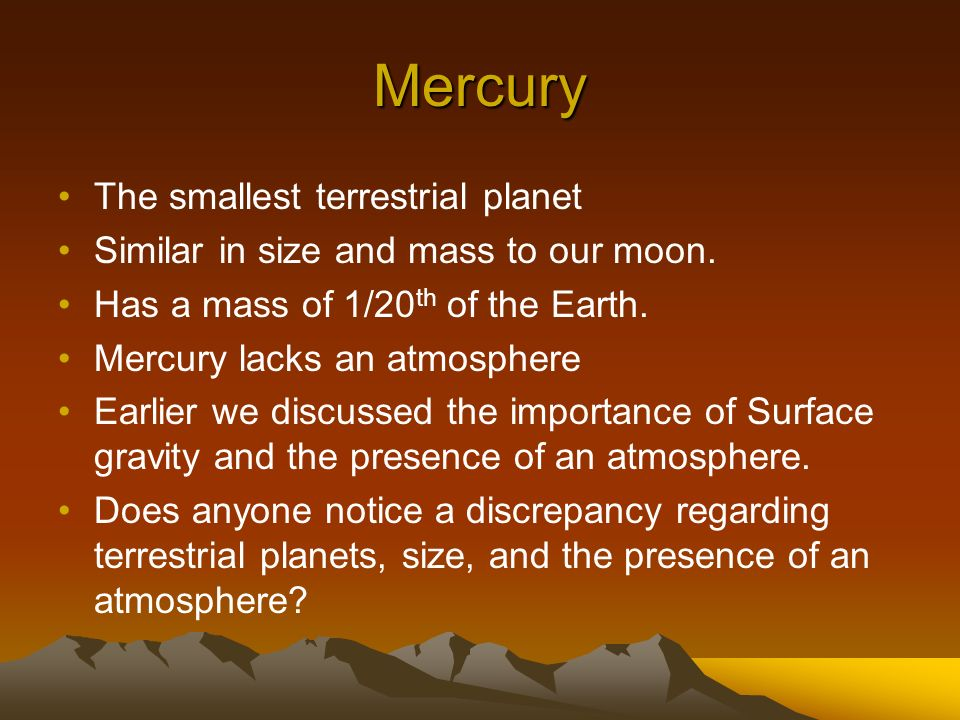 Terrestrial Planets. - ppt download