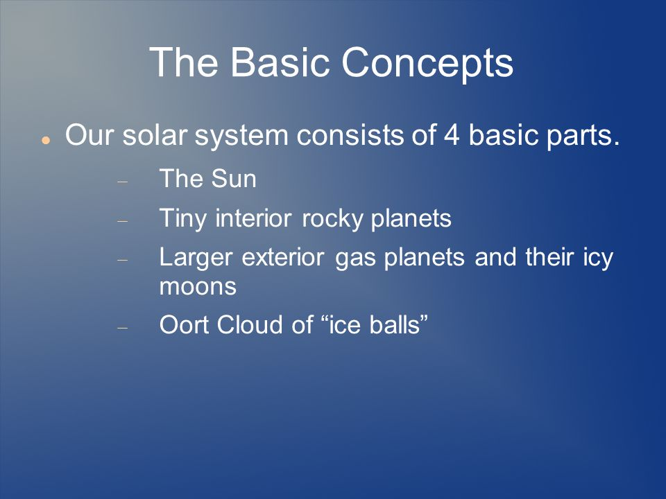 Introduction to oort cloud