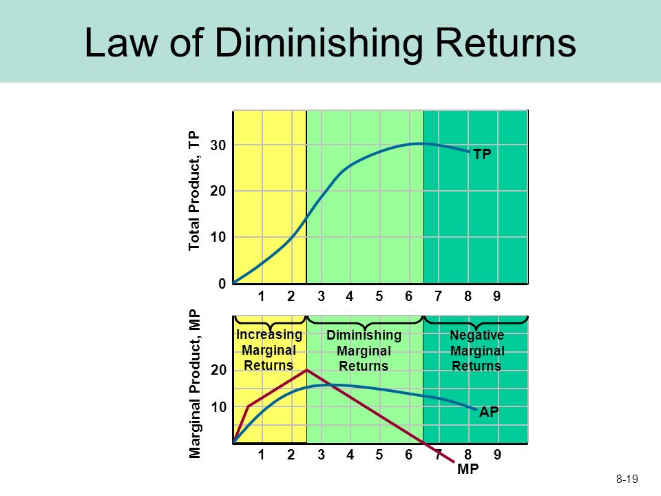 law of diminishing marginal return essay