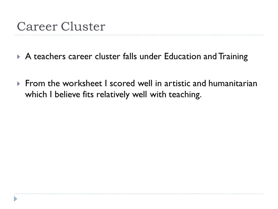 Career Research Andie Lane 2nd Hour ppt video online download – 16 Career Clusters Worksheets