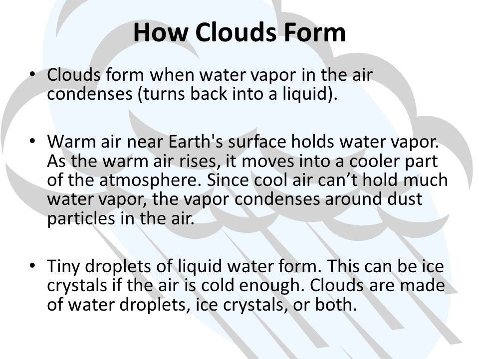 Clouds and Precipitation - ppt video online download
