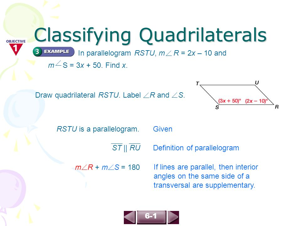 61 Classifying Quadrilaterals page ppt download – Classifying Quadrilaterals Worksheet