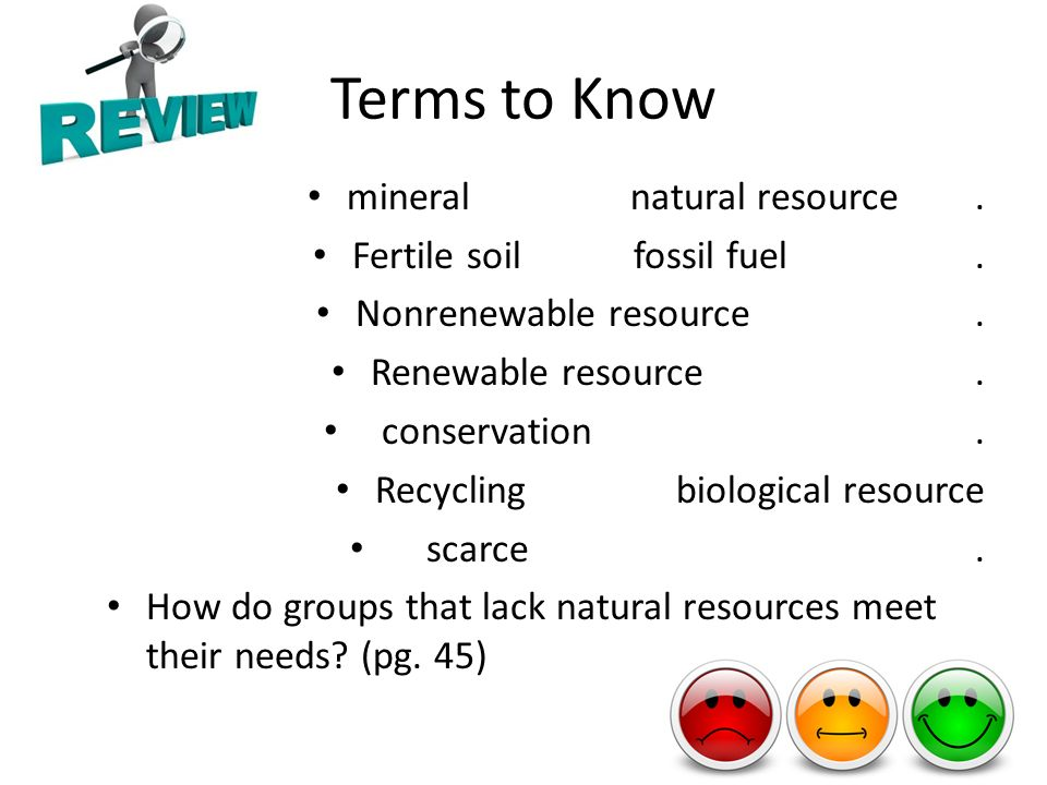 Chapter 1 lesson 4 renewable and nonrenewable resources for Soil resources definition