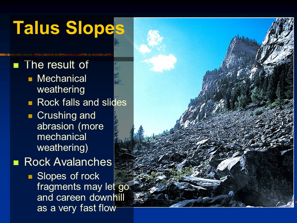 classifications of weathering processes Weathering: weathering,, disintegration or alteration of rock in its natural or original position at or near the earth's surface through physical, chemical, and biological processes induced or modified by wind, water, and climate during the weathering process the translocation of.