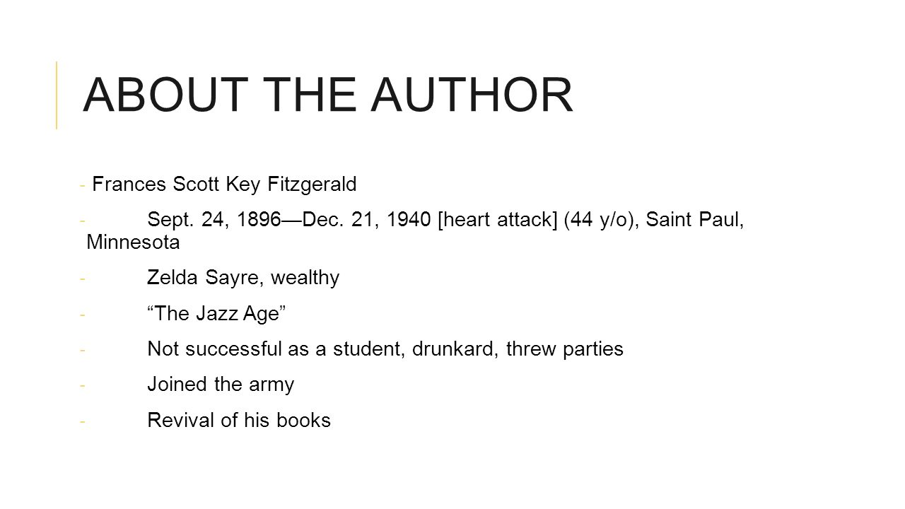 an analysis of the hero in the great gatsby by f scott fitzgerald A great american character analysis: is gatsby indeed great f scott fitzgerald's characterization of jay gatsby demonstrates the extent to which gatsby as with the great houdini, fitzgerald's great gatsby emerges from a logical and almost karmic reality through the.