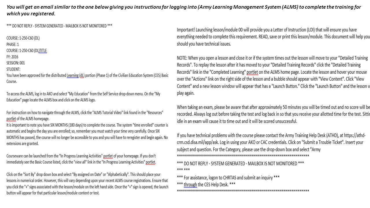 Civilian Education System CES