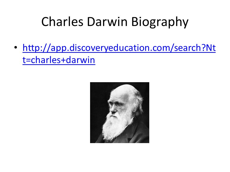 biography charles darwin Charles darwin biography and facts short bio about charles darwin who produced the first comprehensive theory of evolution.