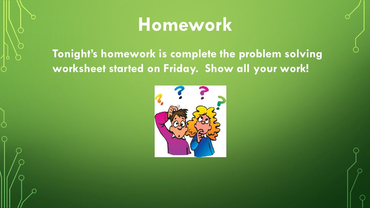 Distributive property ppt download homework tonights homework is complete the problem solving worksheet started on friday robcynllc Gallery