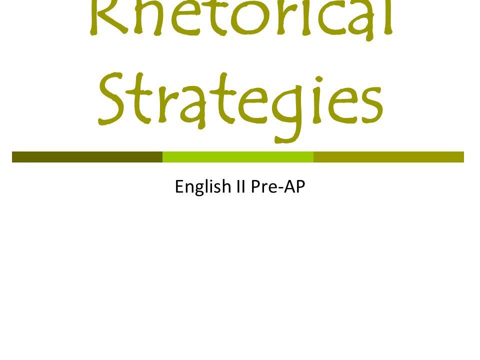 ap rhetorical devices list