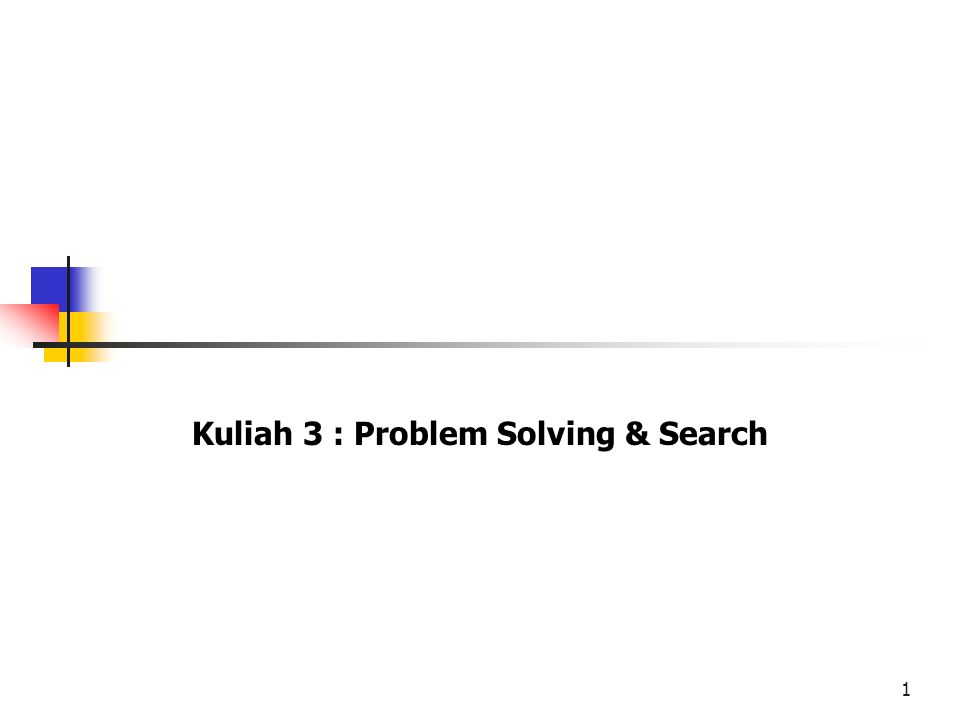 Problem Solving Search